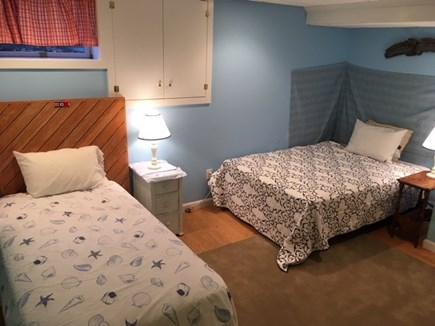 Harwich Cape Cod vacation rental - Lower level sleeping area (1 twin, 1 double)