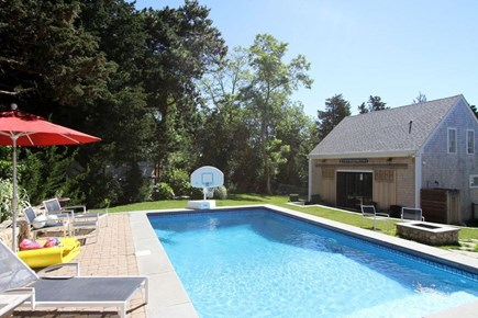 East Orleans Cape Cod vacation rental - Salt Water Heated Pool and Boat House
