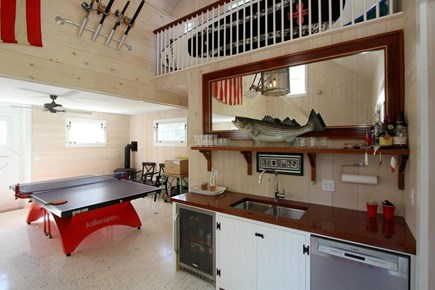 East Orleans Cape Cod vacation rental - Boathouse and Additional Family/Kitchen Space