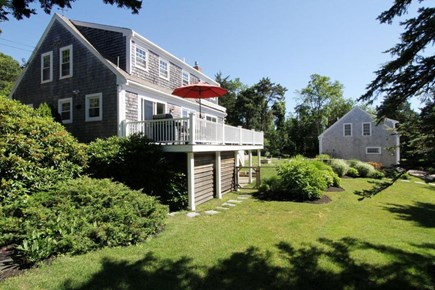 East Orleans, Mill Pond  Cape Cod vacation rental - Main House and Yard