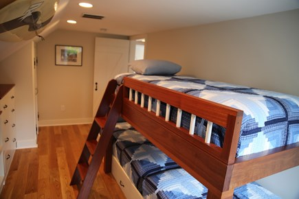 East Orleans, Mill Pond  Cape Cod vacation rental - Bunk BedRoom #4 - 3 Twin Beds 2nd Floor