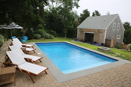 East Orleans, Mill Pond  Cape Cod vacation rental - Saltwater heated pool/boathouse/wood fire pit/2 outside showers
