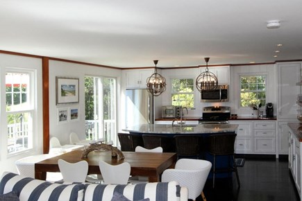 East Orleans Cape Cod vacation rental - Family Room and Kitchen