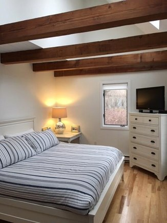 East Orleans Cape Cod vacation rental - First floor master bedroom with New King bed