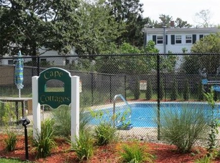 Dennisport Cape Cod vacation rental - New pool shared by all cottages