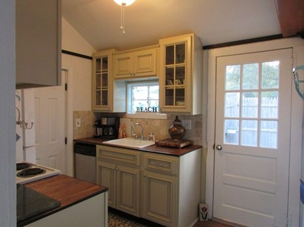 Dennisport Cape Cod vacation rental - Newly renovated kitchen with dishwasher.