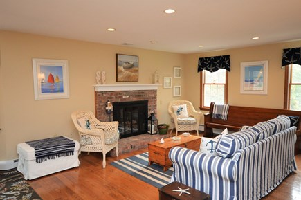 Eastham Cape Cod vacation rental - Open family room
