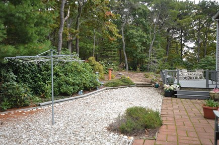 Eastham Cape Cod vacation rental - Large quiet backyard