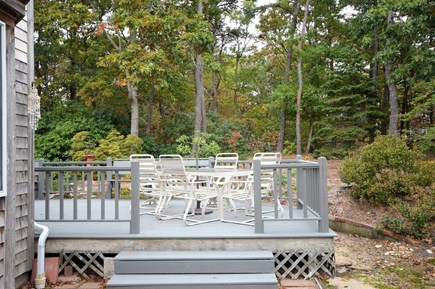 Eastham Cape Cod vacation rental - Outdoor dining area