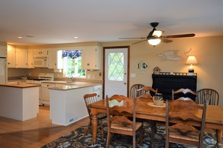 Eastham Cape Cod vacation rental - Open concept kitchen / dining area