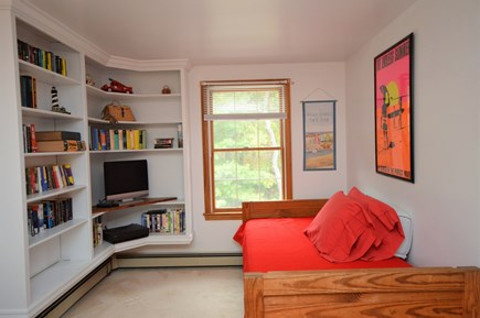 Eastham Cape Cod vacation rental - 2nd floor twin bedroom with extra twin and TV