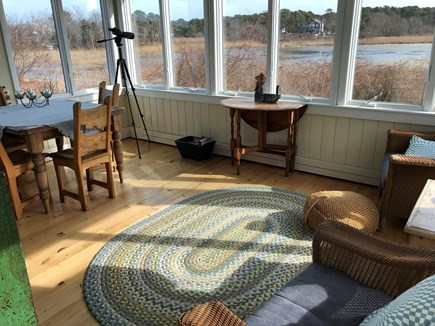 Brewster Cape Cod vacation rental - Sunporch, winter 2018