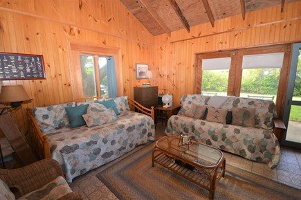 Orleans Cape Cod vacation rental - Daybed and Futon bed with beautiful views outside