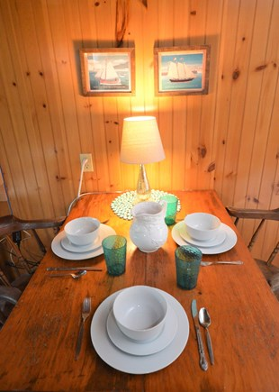 Orleans Cape Cod vacation rental - Dining area with room for 3