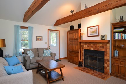 Orleans Cape Cod vacation rental - Cozy living room with plenty of lighting
