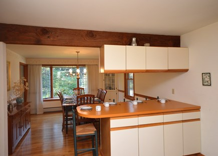 Orleans Cape Cod vacation rental - Breakfast nook with access to dining room