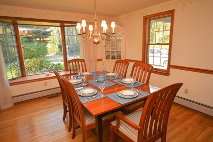 Orleans Cape Cod vacation rental - Dining room with large bay window and seating for 6