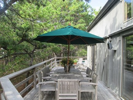 Wellfleet Cape Cod vacation rental - Spacious, private deck