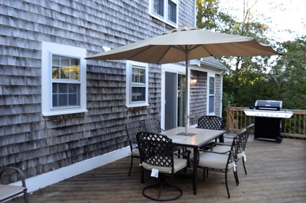 Orleans Cape Cod vacation rental - Expansive deck with plenty of seating