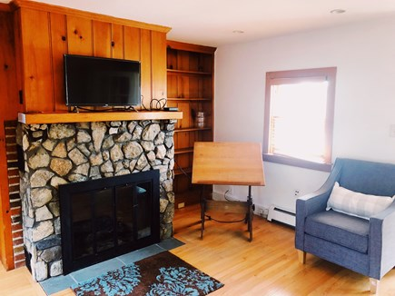Eastham Cape Cod vacation rental - Den with Cable TV & Netflix