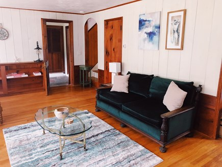 Eastham Cape Cod vacation rental - Living Room space to chat and play games.