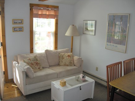North Truro Cape Cod vacation rental - Living room and dining area