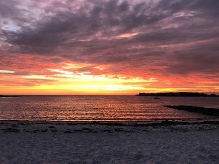 North Falmouth Cape Cod vacation rental - Wild Harbour Sunset