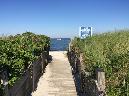 North Falmouth Cape Cod vacation rental - Private sandy beach for residents and guests only