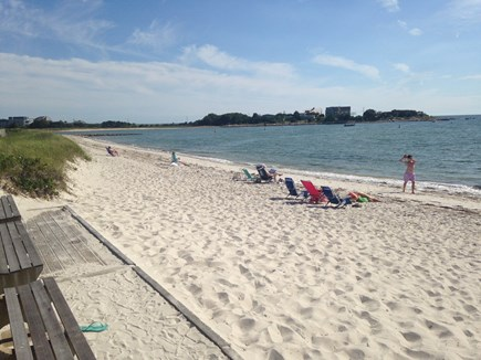 North Falmouth Cape Cod vacation rental - No need to fight the crowds at the public beaches.