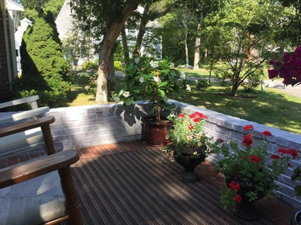 North Falmouth Cape Cod vacation rental - Greet the sun and sip your morning coffee on the front porch.