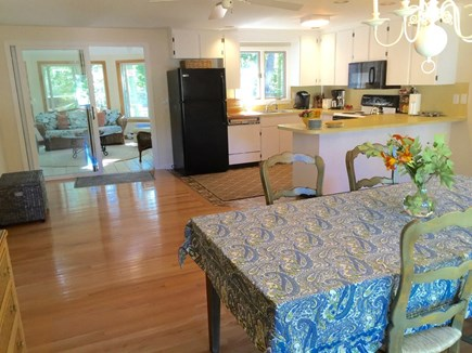 North Falmouth Cape Cod vacation rental - Open floor plan. Cook, dine, relax.