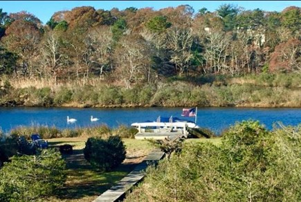 East Falmouth Cape Cod vacation rental - View of dock