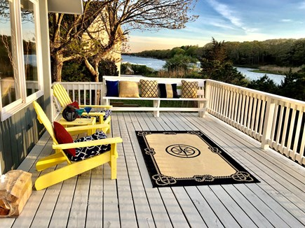 Falmouth Cape Cod vacation rental - Oversized deck