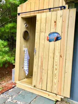 Falmouth Cape Cod vacation rental - New outdoor shower