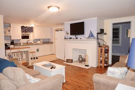 West Dennis Cape Cod vacation rental - Open living Area and kitchen atea