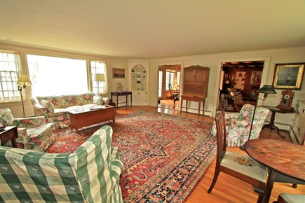 Orleans Cape Cod vacation rental - Spacious Living Room-Opens Up to Pine Room & Sun Room
