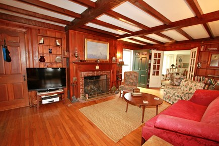 Orleans Cape Cod vacation rental - The Pine Room is Perfect for TV Time & Gathering the Family