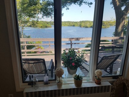 Centerville Centerville vacation rental - The view from the upstairs dining room...