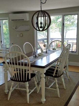 Centerville Centerville vacation rental - The upstairs dining room...lots of windows to enjoy the views!!