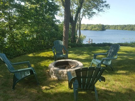 Centerville Centerville vacation rental - Outdoor fire pit with views!