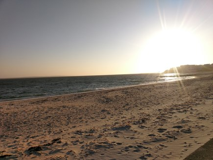 Falmouth Heights Cape Cod vacation rental - Ocean beach steps away