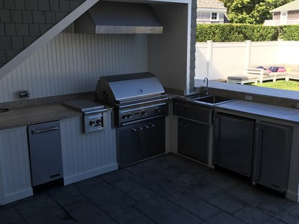 Falmouth Heights Cape Cod vacation rental - Outdoor Kitchen and Bar