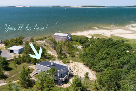 Wellfleet Cape Cod vacation rental - Stunning water view (2-min walk to beach)