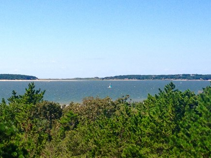 Wellfleet Cape Cod vacation rental - Cape Cod Bay (view from deck)