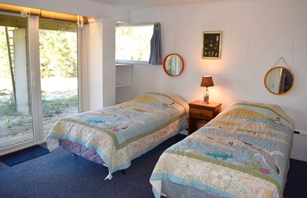 Wellfleet Cape Cod vacation rental - Downstairs bedroom #2 (with large closet)