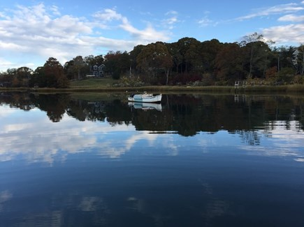 East Orleans Cape Cod vacation rental - Meetinghouse Pond is a boat landing around the corner .1 mile