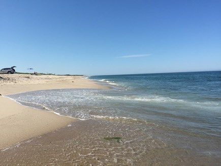 East Orleans Cape Cod vacation rental - Oversand permitted 4x4/AWD gain access to dunes/beach at Nauset