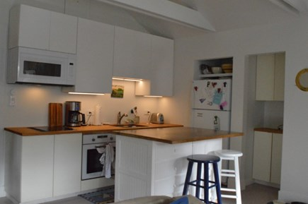 East Orleans Cape Cod vacation rental - Enjoy home cooking with this ample kitchen, pantry, and island.