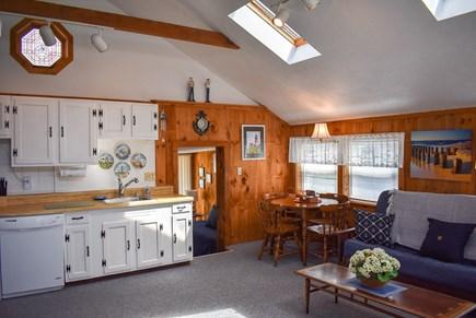 Dennisport Cape Cod vacation rental - Kitchen/seating area