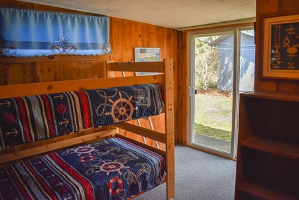 Dennisport Cape Cod vacation rental - Bedroom with bunk beds (2 twin beds)